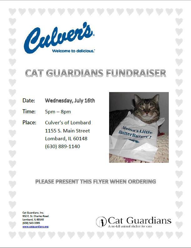 Culvers July 16